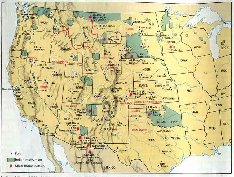 us history westward expansion wars indians essay Asses the impact of westward expansion on native americans the impact on the native american people related as and a level history of the usa, 1840-1968 essays.